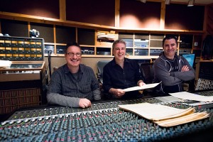 John, Lance and Paul at Avatar checking the score