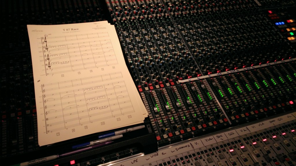 Following the score for Forza Motorsport 5 Original Soundtrack at Skywalker Ranch
